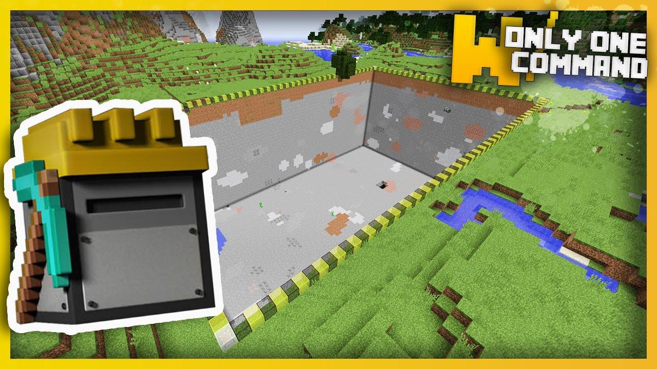 Customizable Quarry Command Block 11.1111.11 - 11Minecraft.Net