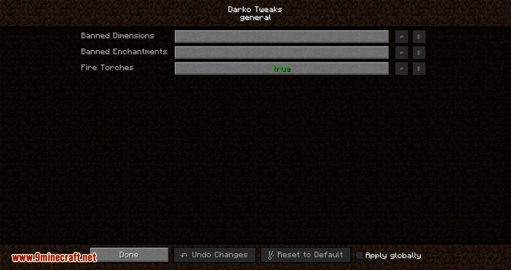 DarkoTweaks mod for minecraft 07