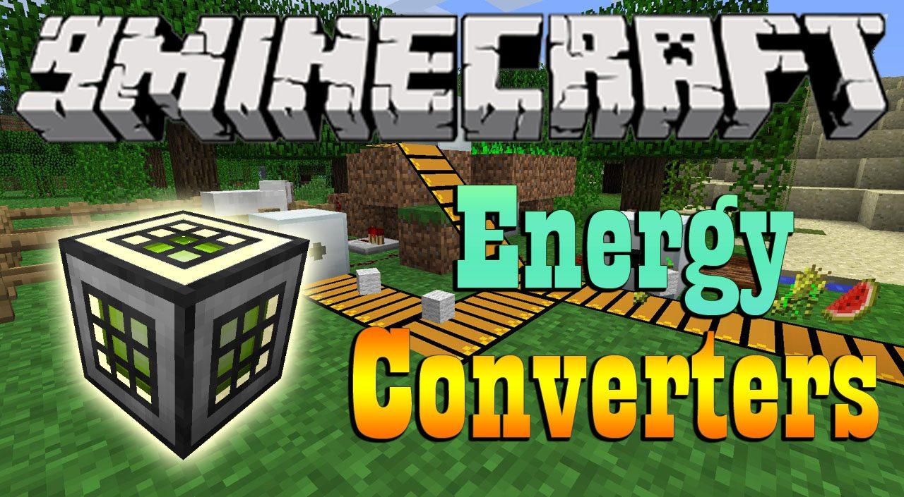 Energy Converters Mod 1.11.2/1.10.2