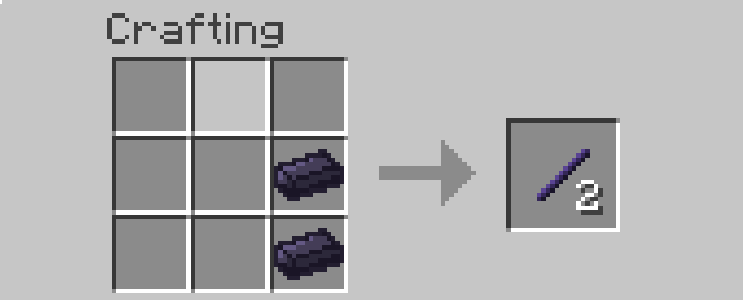 Enriched Obsidian Mod Crafting Recipes 2