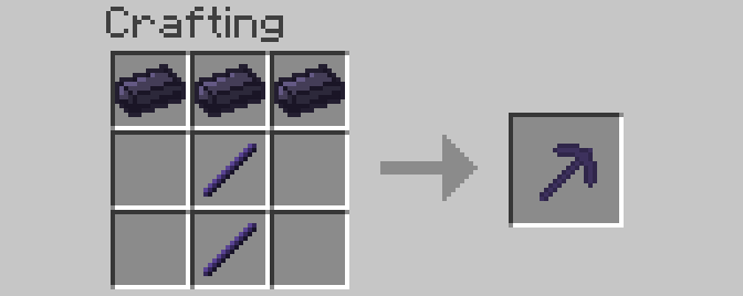 Enriched Obsidian Mod Crafting Recipes 3