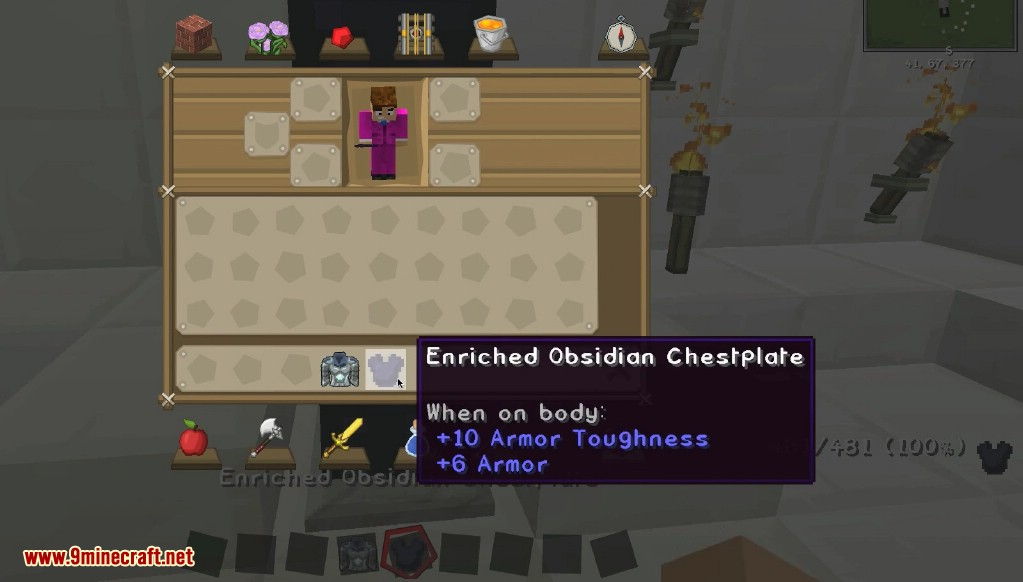 Enriched Obsidian Mod Screenshots 4