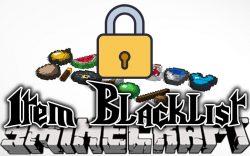 Item Blacklist Mod