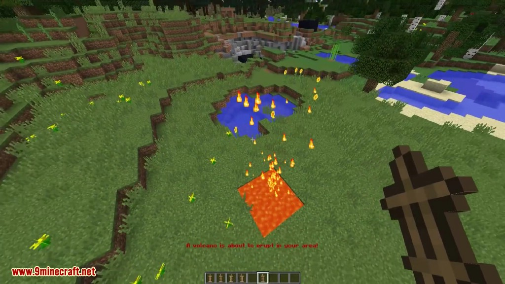 Minecraft One Command Natural Disasters