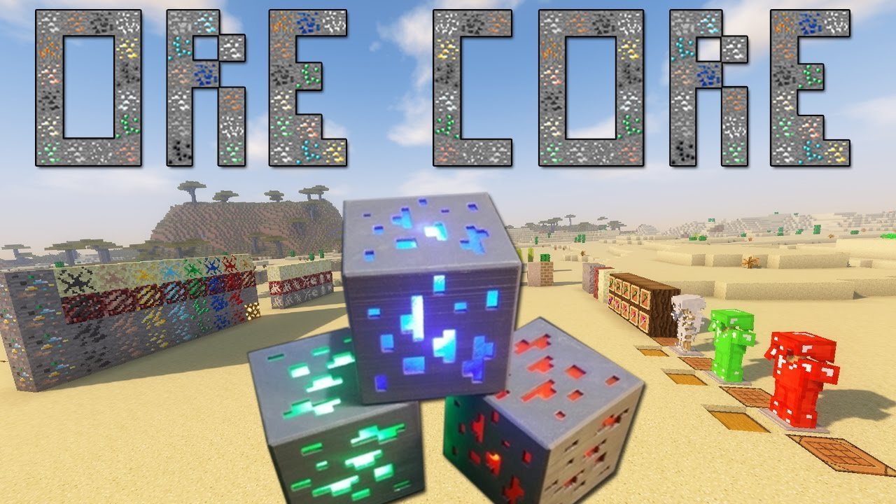 Ore Core Mod 1 12 2 1 11 2 Powerful Ores 9minecraft Net