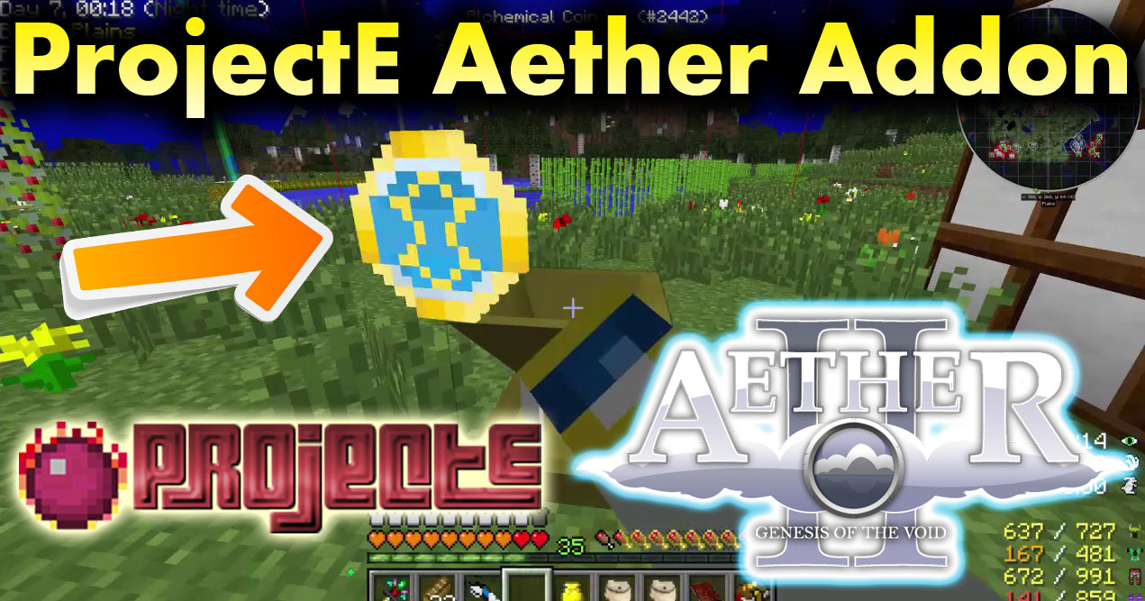 ProjectE Aether Addon 1.7.10