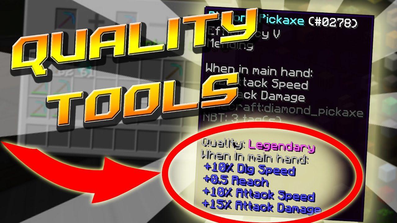 Quality Tools Mod