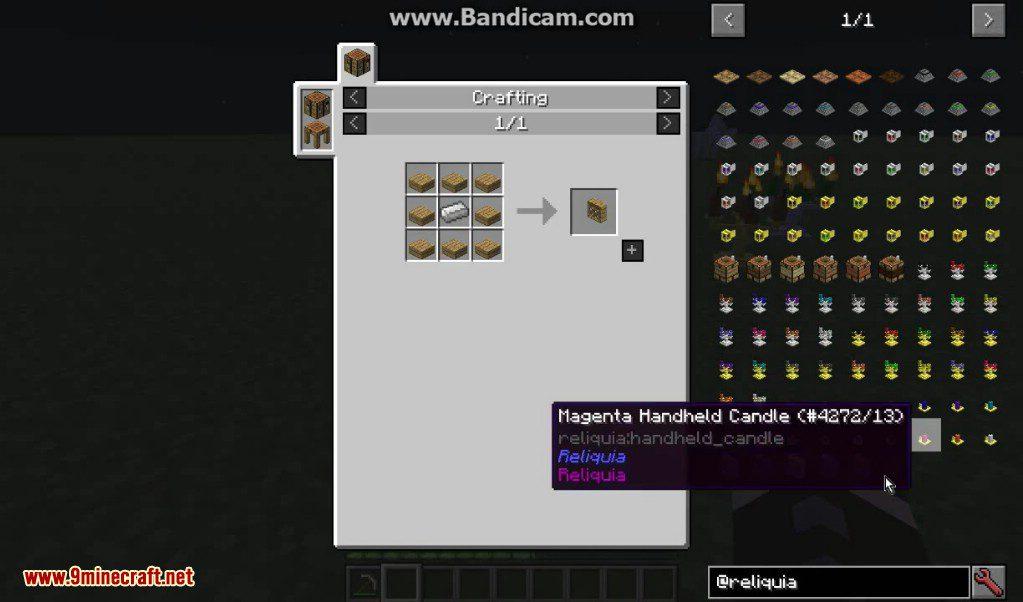 Reliquia Mod Crafting Recipes 9