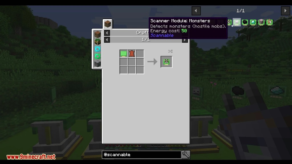 Scannable Mod Crafting Recipes 3