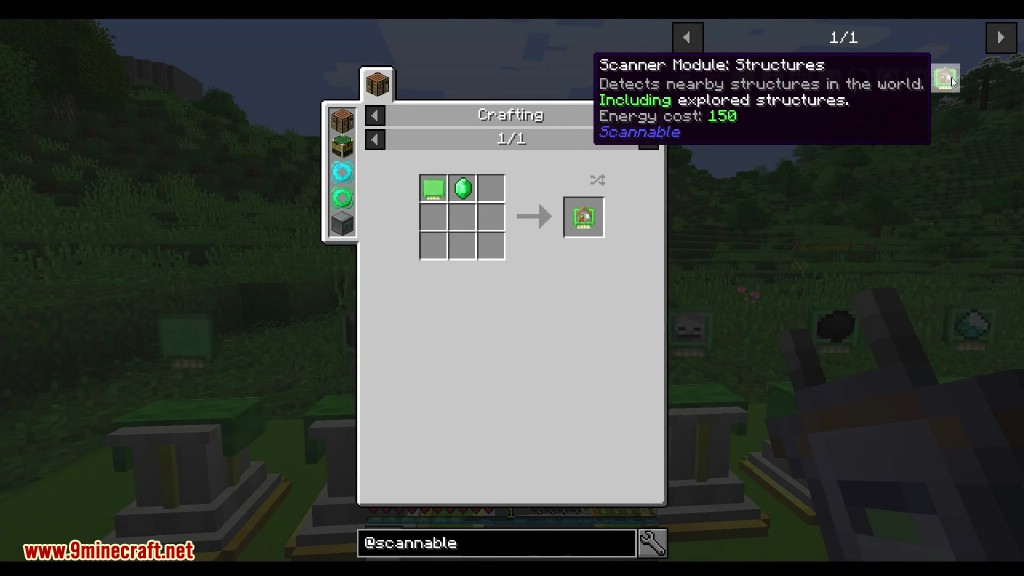 Scannable Mod Crafting Recipes 7