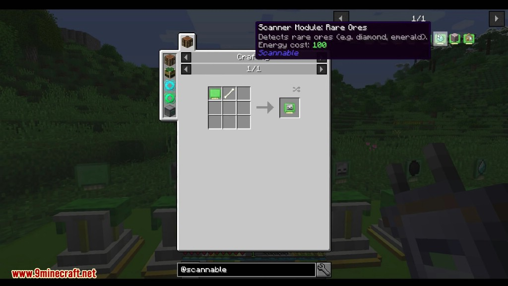 Scannable Mod Crafting Recipes 9