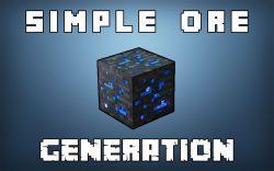 Simple Ore Generation Mod