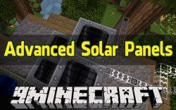Advanced Solar Panels Mod