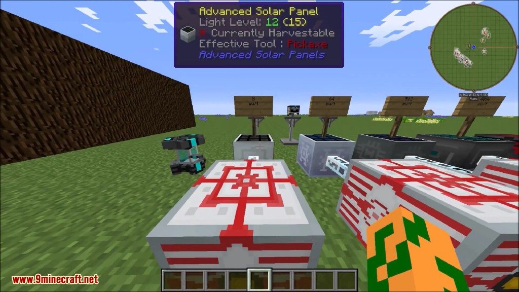 Advanced Solar Panels Mod 1 12 2/1 11 2 for Industrial Craft