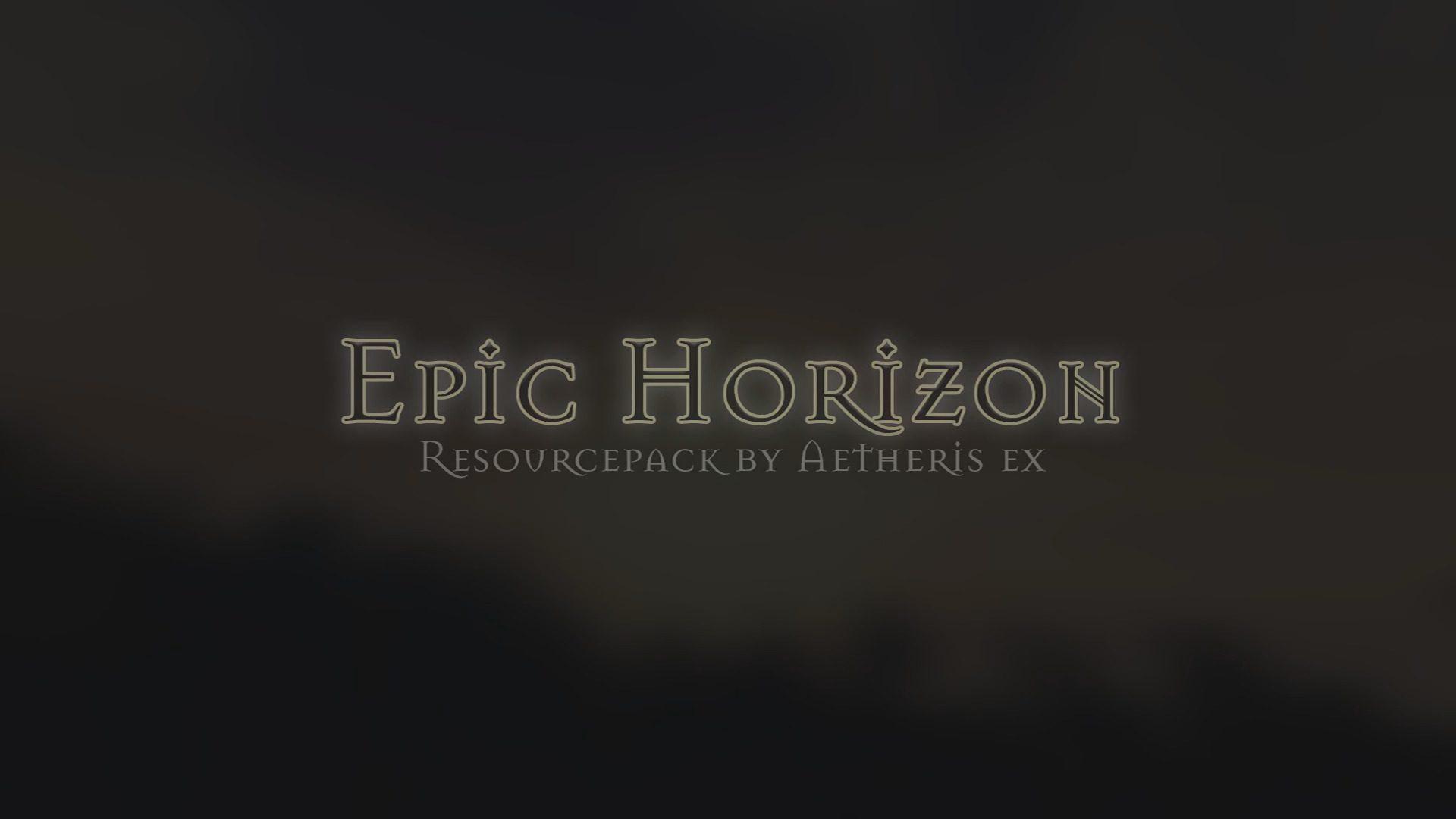 Epic Horizon Resource Pack