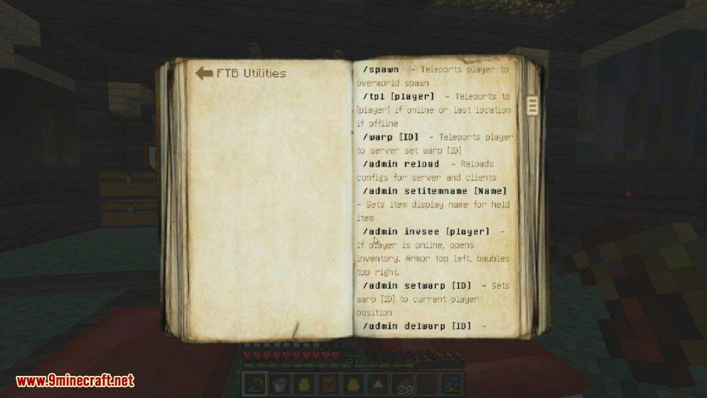 FTB Utilities Mod Screenshots 15