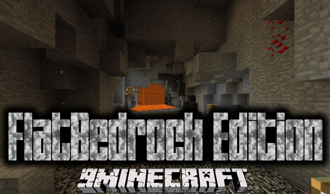 FlatBedrock Edition Mod
