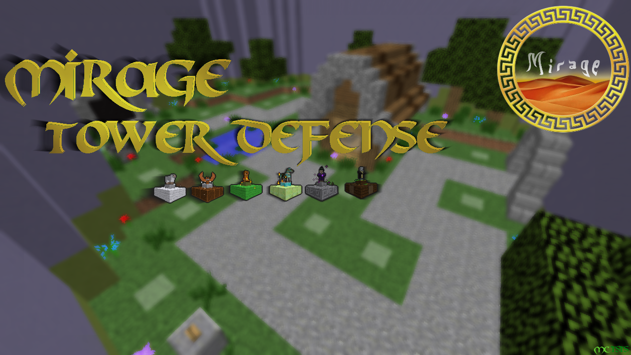 Mirage Tower Defense Map Thumbnail