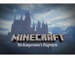 Mr Kaspersson Hogwarts Map