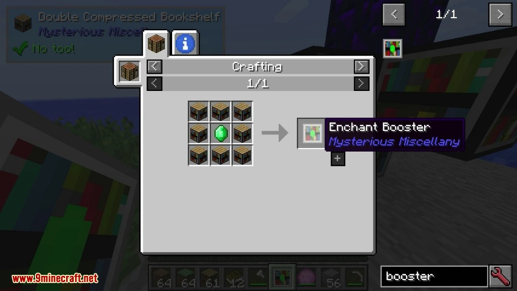 Mysterious Miscellany Mod Crafting Recipes 4