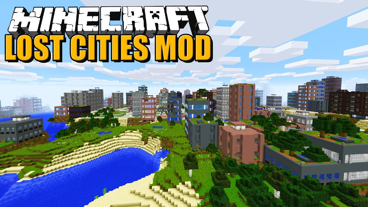 The Lost Cities Mod 1.15.2/1.14.4 (Old Abandoned City) - 9Minecraft.Net