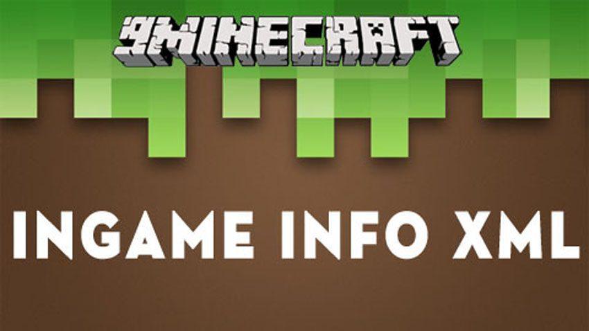 ingame info xml mod 1 12 2 1 11 2 display various information