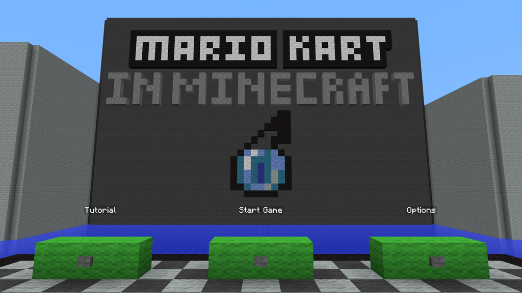 Mario Kart Map 1.12.2/1.11.2 for Minecraft