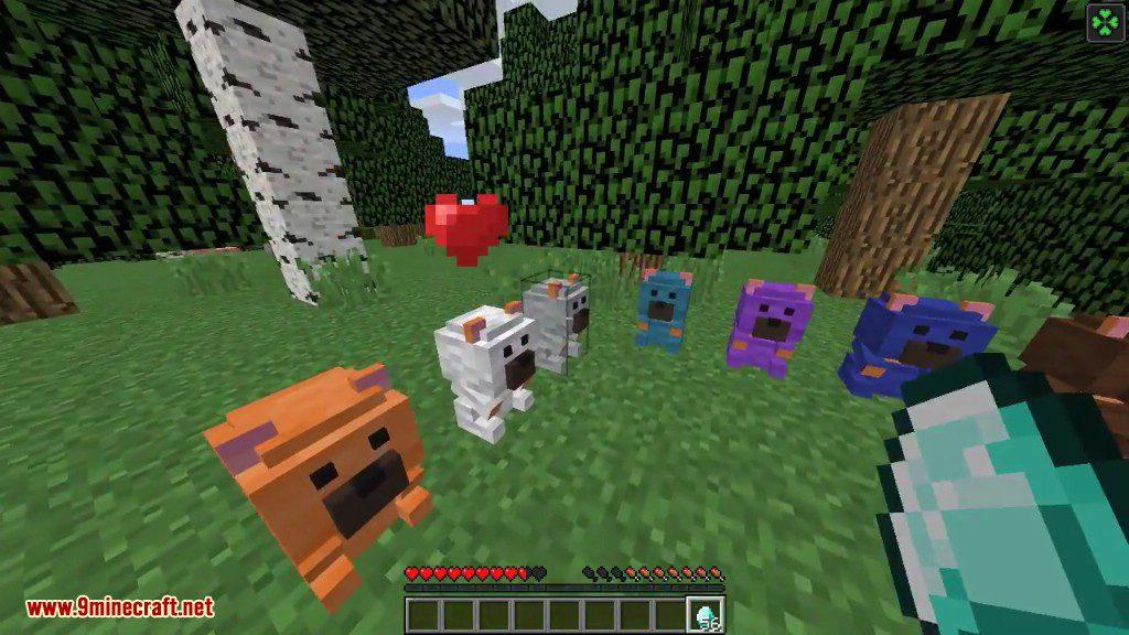 Crafting Polar Bear Minecraft