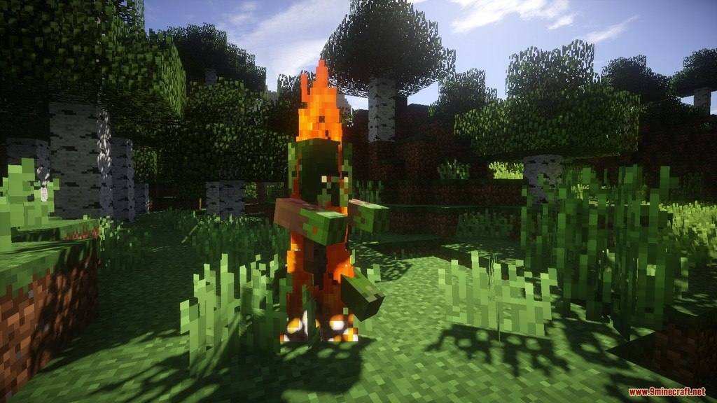Relatively Improved Default Resource Pack Screenshots 11