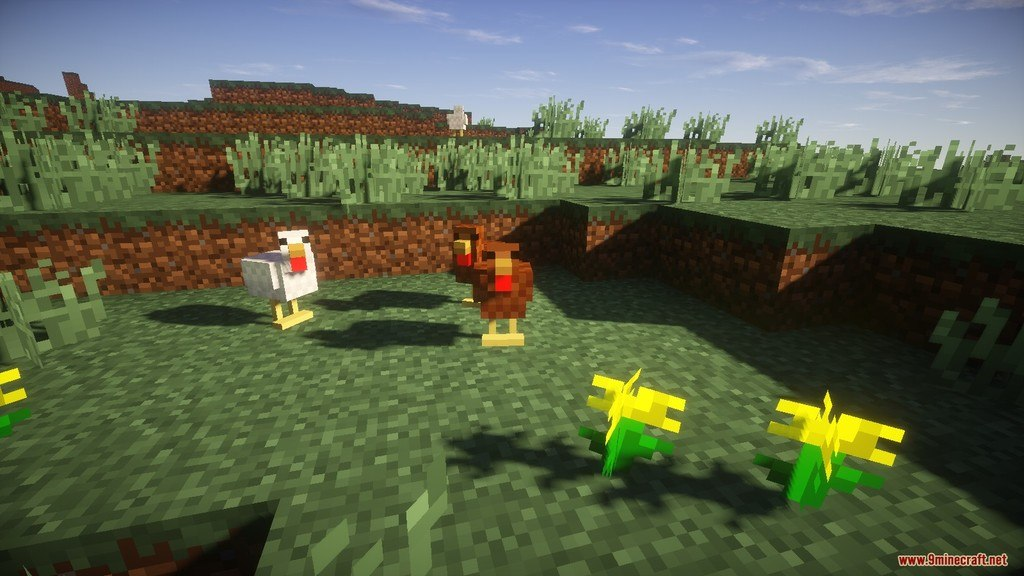 Relatively Improved Default Resource Pack Screenshots 2