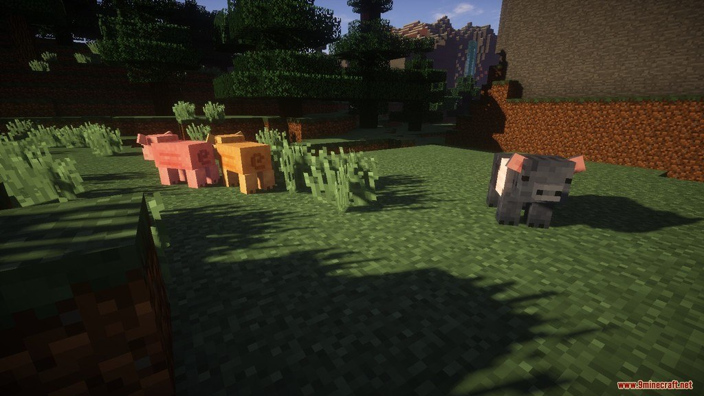 Relatively Improved Default Resource Pack Screenshots 8
