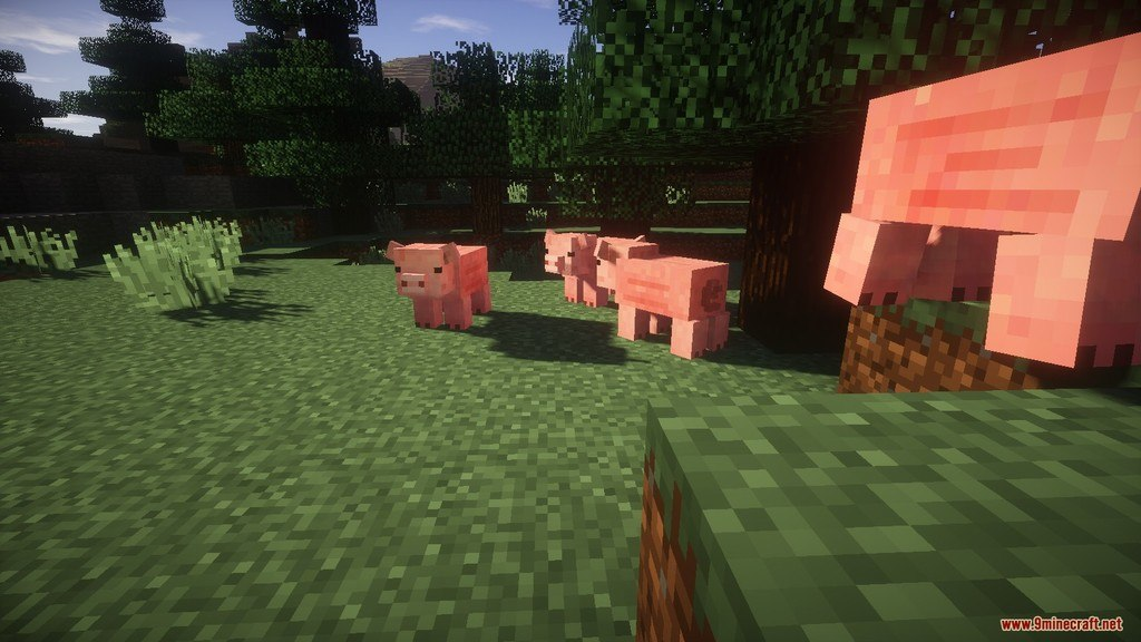 Relatively Improved Default Resource Pack Screenshots 9