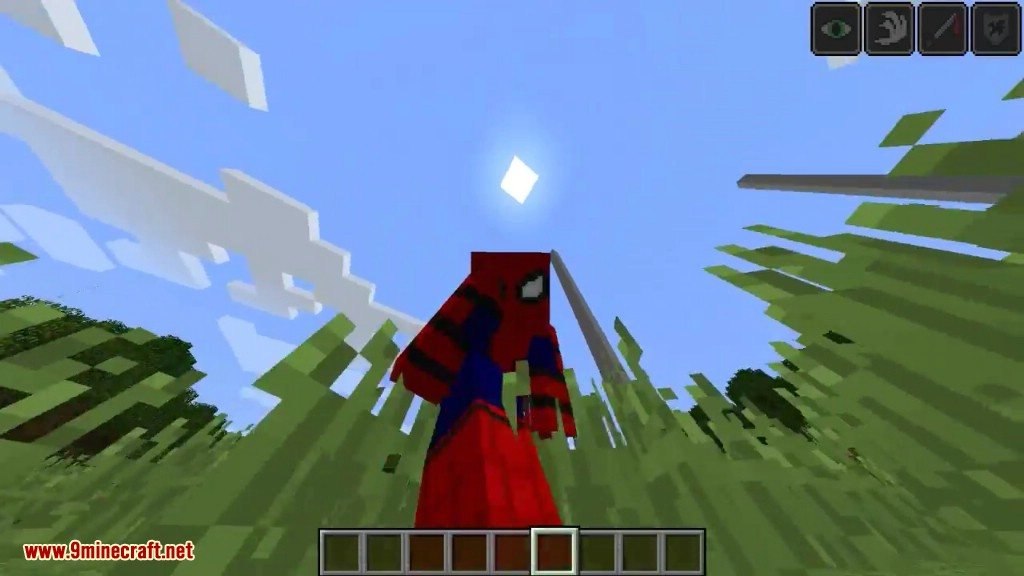Spiderman Homecoming Mod 1 11 2 for Minecraft - 9Minecraft Net