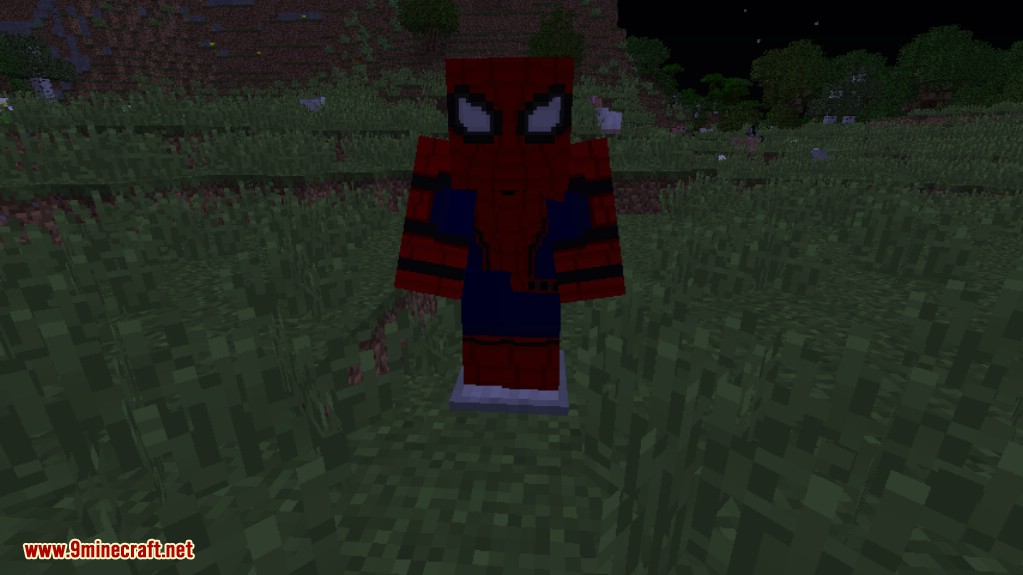Spiderman Homecoming Mod For Minecraft MinecraftNet - Skins para minecraft pe de spiderman