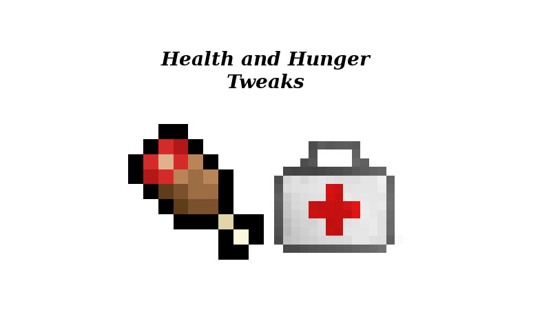Health and Hunger Tweaks Mod