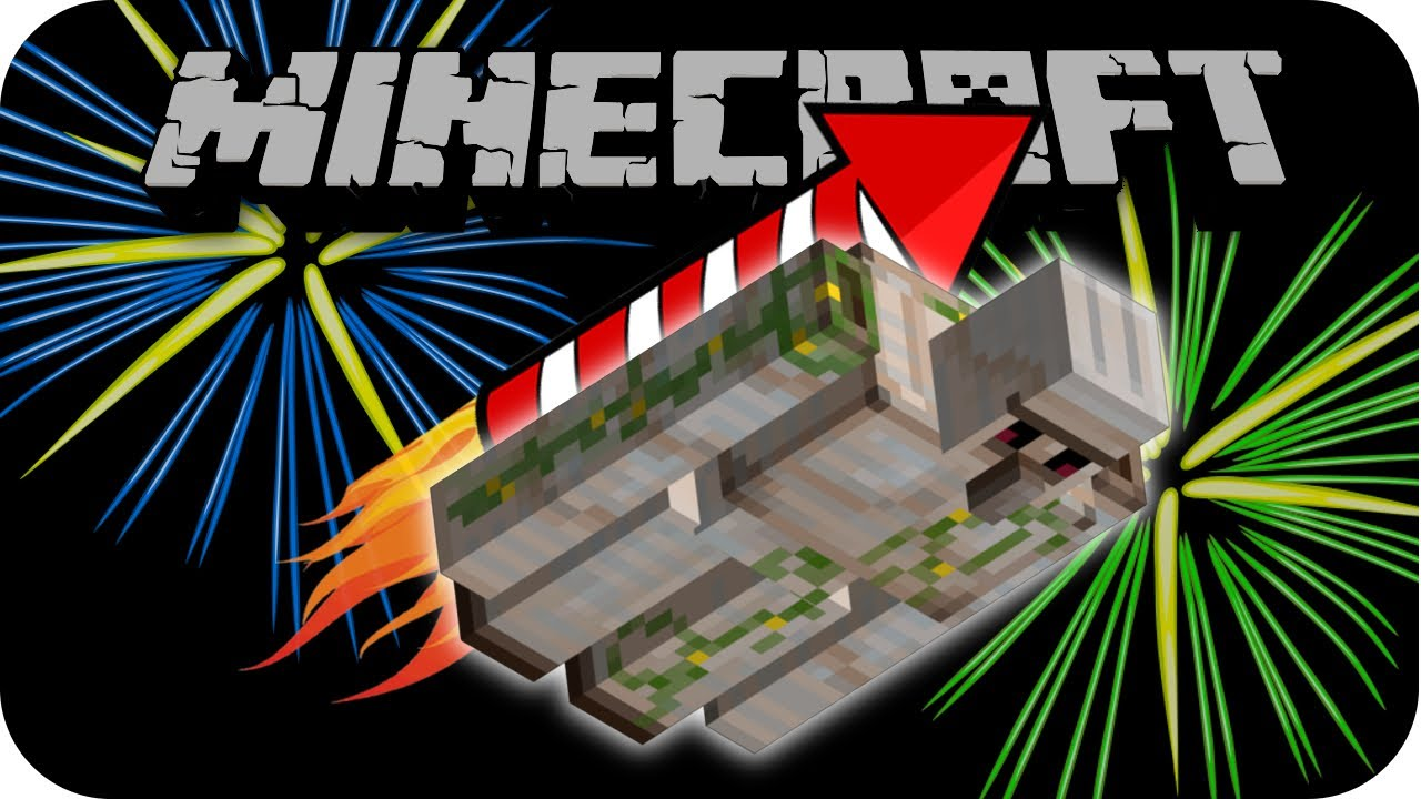 firework rocket minecraft - photo #32