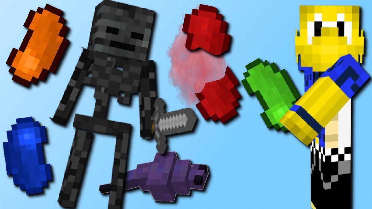 Lucky Beans Mod 1.12.2/1.12 (Bean Boozled in Minecraft)