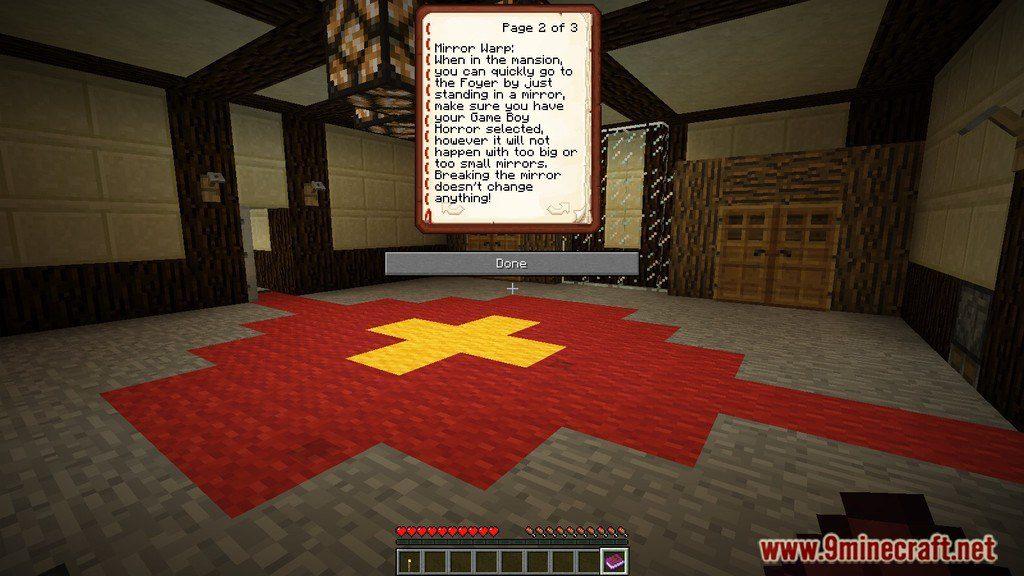 Luigi's Mansion Adventure Map Screenshots 1