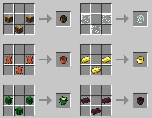 Paileology Mod Crafting Recipes 1