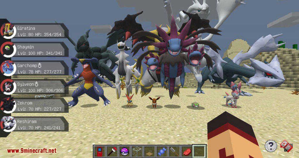 Pixelmon Reborn Mod Screenshots 2