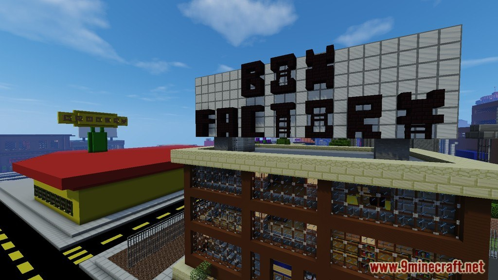 minecraft pe simpsons map download