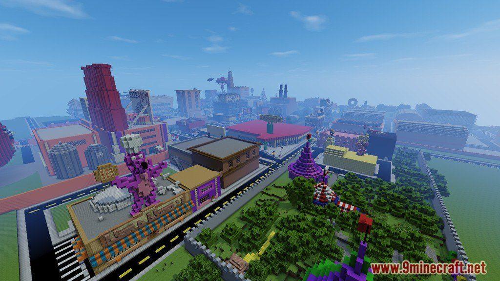 Hot Dog Build Minecraft