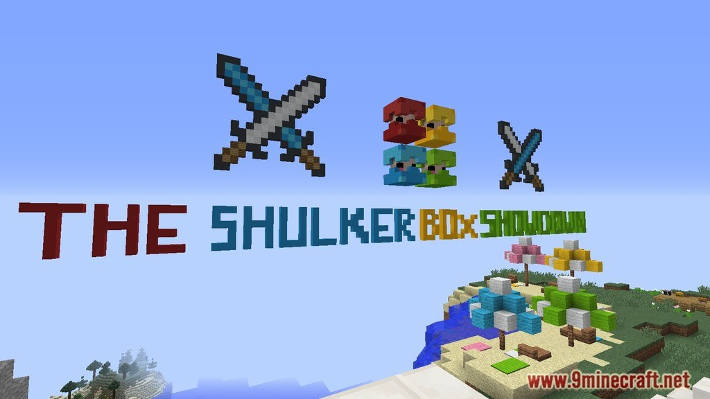 The Shulker Box Showdown Map Screenshots 1