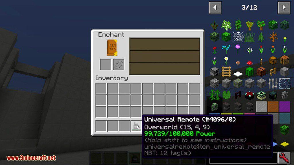 Universal Remote Mod Screenshots 1