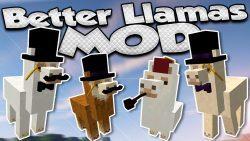 Better Than Llamas Mod Logo