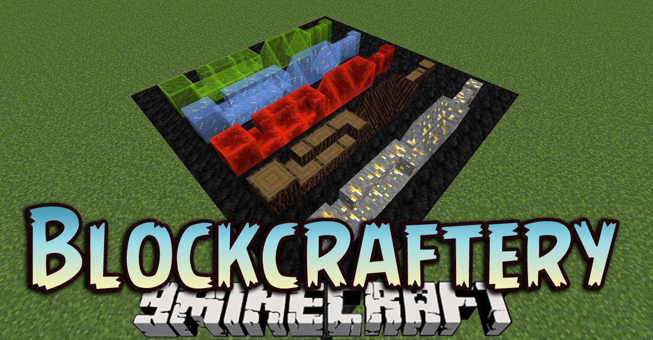 Blockcraftery Mod 8.88.8 (Framed Blocks) - 8Minecraft.Net