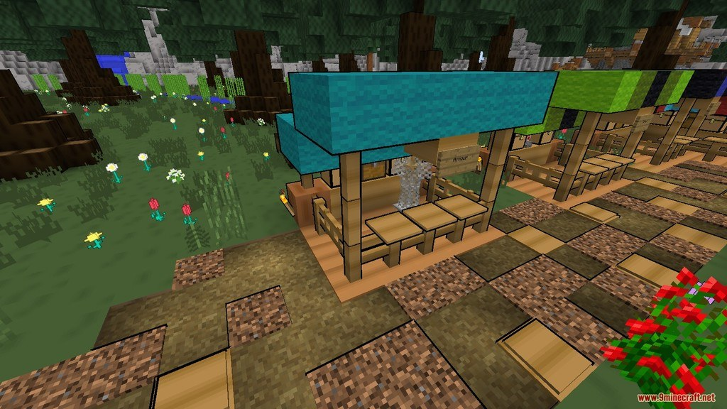 Comic Minecraft Resource Pack Screenshots 6