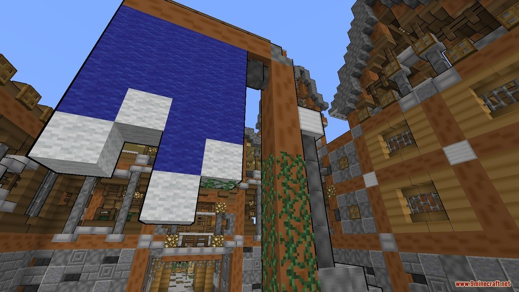 Comic Minecraft Resource Pack Screenshots 7