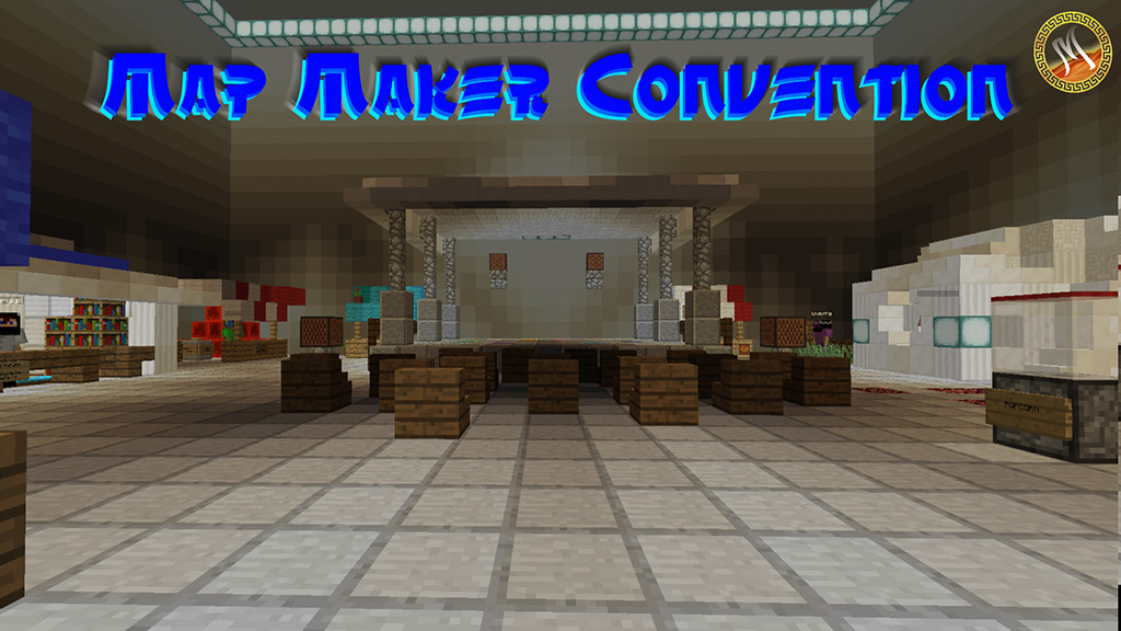 Map Maker Convention Map 1.12.2 for Minecraft