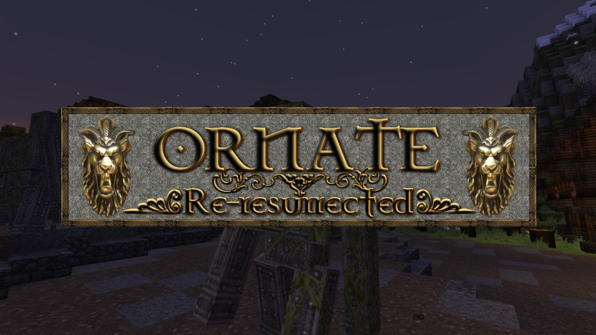 Ornate Resource Pack